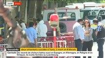 Tunisie: Deux attentats suicides se sont produits à quelques minutes d'intervalle à Tunis visant les forces de l'ordre - 1 mort et 8 blessés - VIDEO