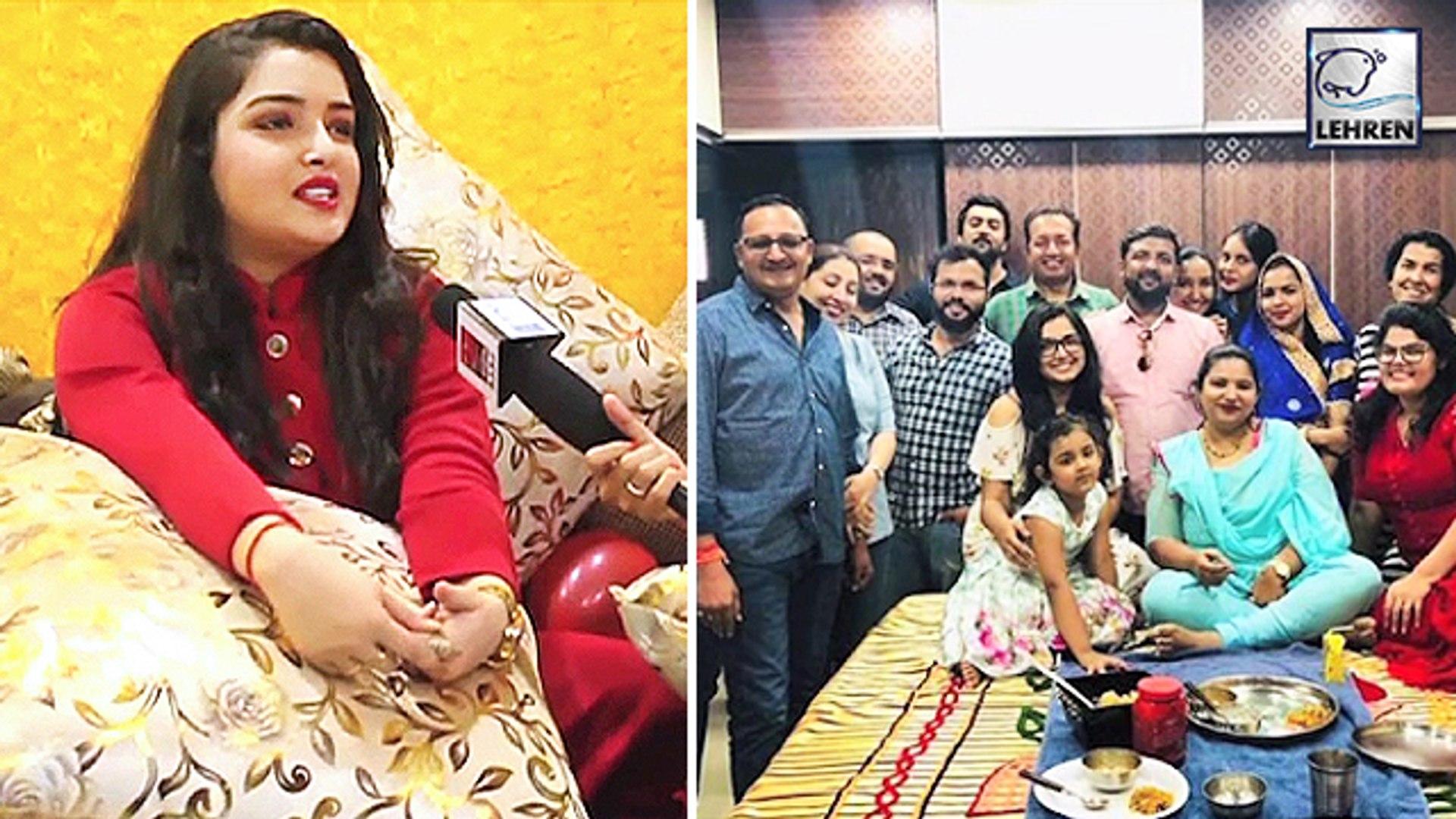 कौन -कौन है आम्रपाली दुबे के परिवार में,देखिये वीडियो