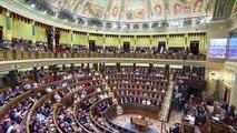 Diputados del PSOE no aplauden a Mari Mar Blanco