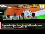 'Take care of Amethi with love' says Rahul Gandhi to Smriti Irani