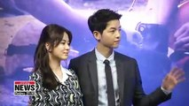 Star actor Song Joong-ki files for divorce from actress Song Hye-kyo