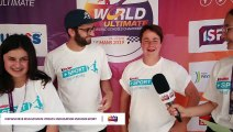 Interview Aline + Steve Mondial scolaire d'ultimate