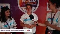Interview Aline Mondiot Rasta Mondial scolaire d'ultimate