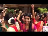 Students of St. Teresa's college celebrate onam