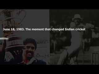 Tunbridge Wells da jawab nahin: Where Kapil Dev changed Indian cricket forever