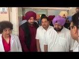Amritsar train tragedy: Punjab CM Amarinder Singh and Minister Navjot Singh Sidhu visit injured