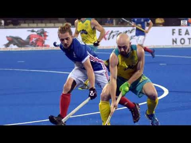 Australia beat France at Men's Hockey World Cup. Here are the best moments of the match..
