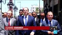 TUNISIE : Youssef Chahed, chef du gouvernement, s'exprime après l'attentat suicide à Tunis
