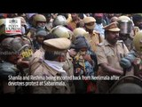 SABARIMALA: Two women below 50 years of age forced to return