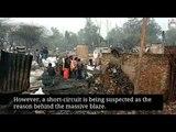 Delhi fire: 250 huts gutted in Paschim Puri