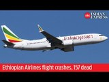 Ethiopian Airlines flight to Nairobi crashes, all 157 people on board dead
