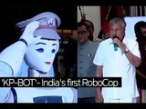 India's first RoboCop joins duty by saluting Kerala CM Pinarayi Vijayan