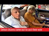 India Elections 2019: MS Swaminathan, other senior citizens come out to cast their vote