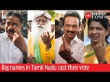 India Elections 2019: Big names in Tamil Nadu cast their vote
