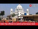 India and Pakistan officials to speed up Kartarpur Corridor work