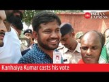 India Elections 2019: Kanhaiya Kumar casts his vote