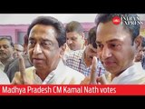 India Elections 2019: Madhya Pradesh CM Kamal Nath votes