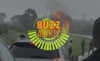 Buzz alerte : Explosion de bouteilles de gaz sur l'axe Yamoussoukro Abidjan