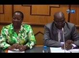 RTG/La Ministre en charge des relations avec le institutions constitutionnelles face aux députés