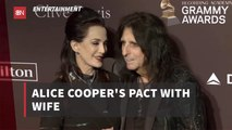 Alice Cooper And His Wife Have A Suicide Pact
