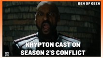 Krypton Cast On Season 2's Big Conflict