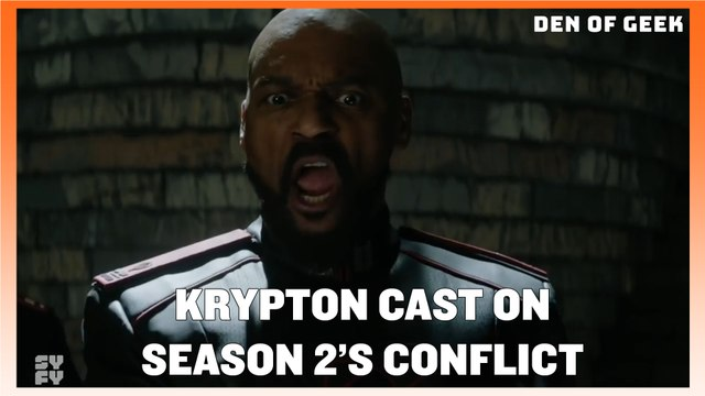 Krypton Cast On Season 2's Big Conflict
