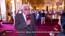 Affaire Benalla: réaction de Jean-Pierre Sueur a la décision du parquet