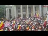 Massive protests in Bengaluru: Kannada activists and film industry come together on #KarnatakaBandh
