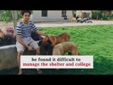 Meet the 19-year-old who convinced his college to become a haven for abandoned animals.