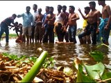 Standing knee-deep in Thamirabarani water, protests resume fight against Pepsi-Coke