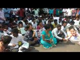 Fans of actor Suriya protest outside Sun TV office in Chennai