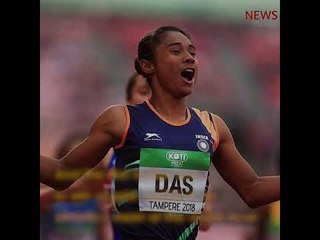 Hima Das scripts history, wins gold at IAAF U-20 championship
