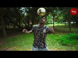 A self-taught freestyle footballer in Bengaluru is kicking down barriers
