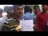 Scores of students protest in Hyderabad over alleged discrepancies in Intermediate exam evaluation