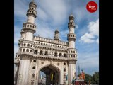 Hyderabad's Charminar suffers damage as a chunk falls off minaret