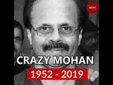 Mourning the loss of an ingenious comedy writer: Crazy Mohan