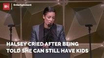 Halsey Got Emotional Over Her Fertility