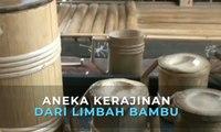 Aneka Kerajinan dari Limbah Bambu