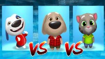 My Talking Hank vs My Talking Ben vs My Talking Tom — Talking Tom Gold Run — Cute Puppy and Cats