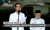 [FULL] Joko Widodo-Ma'ruf AminTanggapi Putusan MK