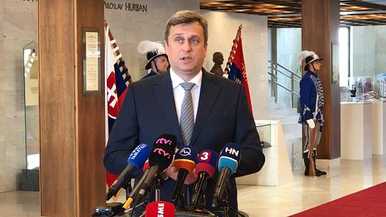 ZÁZNAM: Brífing predsedu NR SR A. Danka