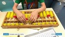 Méthode abacus : des enfants calculent à grande vitesse avec leurs doigts