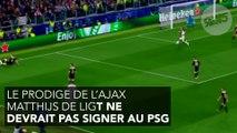 Les deux clauses que le PSG a refusé de signer pour s'offrir De Ligt