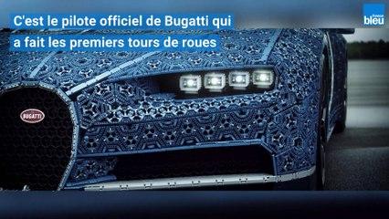 Une Bugatti en Lego, grandeur nature et qui roule