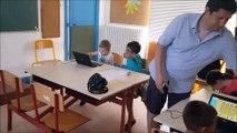 Auxy : les élèves s'initient à la programmation