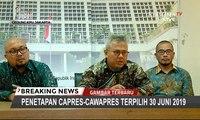 [FULL] MK Tolak Permohonan Prabowo-Sandi, Ini Pernyataan KPU