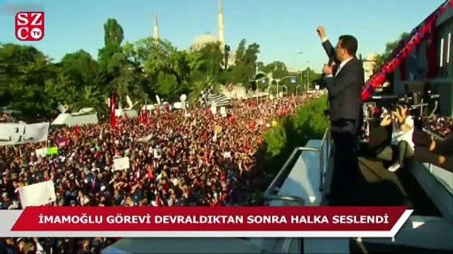 Ekrem İmamoğlu: ''Biz İstanbul'a hizmet etmeye geliyoruz''