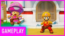 First 5 Minutes Of Super Mario Maker 2 Story Mode Gameplay