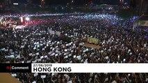 Des milliers de hongkongais de nouveau dans les rues