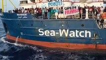 Streit um Anlegeerlaubnis in Lampedusa: Sea-Watch-Kapitänin fordert Italiens Regierung heraus